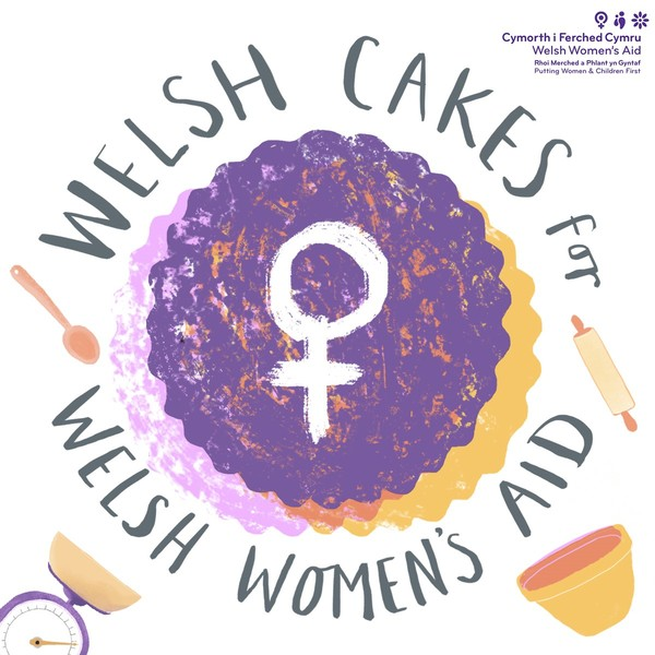 Welsh Cakes for Welsh Women's Aid
